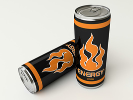 Zwei Dosen Energy Drinks